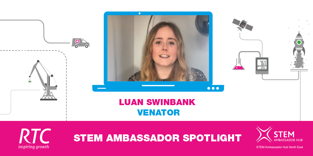 STEM Ambassador Spotlight - Luan Swinbank from Venator