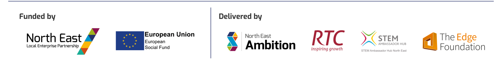 North East Ambition footer
