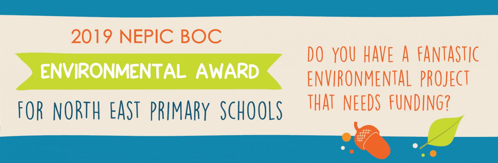 NEPIC BOC Environmental Award for North East Primary Schools - win £2000